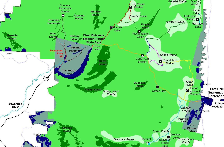 Okefenokee Fire Map.Canoe Trip To Okefenokee Nwr